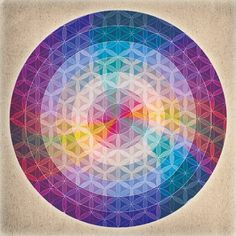 Flower of Life Mandala  via cloud-dazed-moon-child