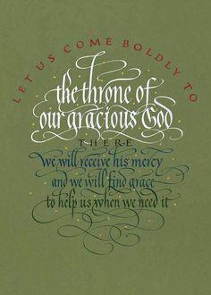 Hebrews 4:16 by Timothy Botts