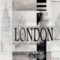 London Canvas Art - Marie-Louise Oudkerk (24 x 24)