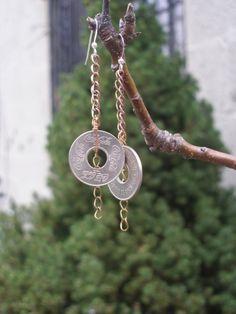 Earrings by jewelry designer Abigail Ramos Terrell