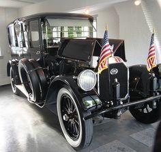 Woodrow Wilson, Pierce-Arrow Limousine