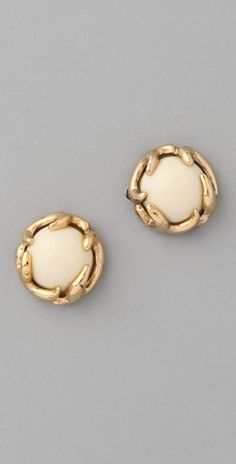House of Harlow 1960. Antler Button Stud #Earrings
