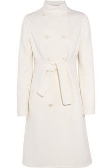 Valentino-Belted wool & cashmere coat