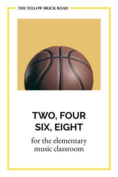 A fantastic speech piece you can use to differentiate beat and rhythm using a basketball. Elementary Music Lessons, Middle School Music, Yellow Brick Road, Music Classroom, Music Mix, Music Education, Cool Websites, Basketball, Weather