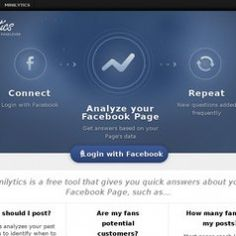 Minilytics. Analyse de votre audience sur Facebook.