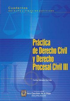 Derecho civil y derecho procesal civil iii