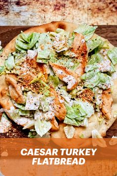 Looking for ways to get the kids to eat their veggies? Try Chef Gabrielle Pellerin's Caesar Turkey Flatbread! A perfect meal for the whole family. Health Dinner, Paleo Dinner, Dinner Recipes, Whole Food Recipes, Vegan Recipes, Cooking Recipes, Clean Eating, Healthy Eating, Veggies