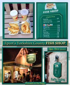 Epcot's Yorkshire County Fish Shop {Review}