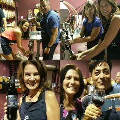 Winemaking is a memorable #ClientAppreciation Activity!   Jason La Vigne's Blue Water Financial winemaking team came together at Grape Finale 4 times to crush, press, rack, & bottle their Prisoner Blend wine. Before & after each session the group enjoyed a social gathering, including food & drink, at Grape Finale. The group was thrilled with the quality & the taste of their #wine at bottling. Contact #GrapeFinale today to learn how you can create a memorable winemaking activity for your…