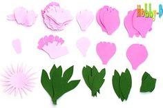 Цветландия - цветы из фоамирана - мастер-классы