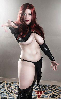 BelleChere as Madelyne Pryor the Goblin Queen #Cosplay