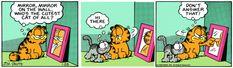 Garfield and Nermal