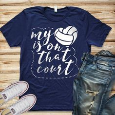 Grab this funny Volleyball Shirt for any volleyball moms who are looking for a c - Funny Volleyball Shirts - Ideas of Funny Volleyball Shirts #funny #volleyball #funnyvolleyball -  Grab this funny Volleyball Shirt for any volleyball moms who are looking for a cute volleyball shirt for their daughters volleyball game! Volleyball parents will love this travel volleyball outfit!