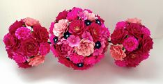 This listing for a single CUSTOM designed Bridal Bouquet, diameter measurements varying based on final design. The flowers made with smooth, heavy cardstock that is acid free. **Please contact us for our color chart** All bouquets are made specifically for the purchaser, with
