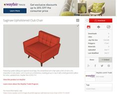 Wayfair, the leading online home furnishing retailer, has launched an extensive library comprising of 3-D product models of furniture and décor of any retailer for global sketchup communities. Primarily, there will be over 1000 models for the design community which can be accessed through 3-D warehouse. The designers will be able to visualize the furniture and décor products which are detailed in their designs in an efficient manner.