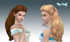 Sims 4 CC's - The Best: Dream Curls by Kiara24