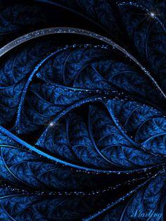 Синий фон с блестками Prussian Blue, Blue Aesthetic, Mafia, Favorite Color, Plant Leaves, Blues, Gifs, Animation, Iphone