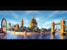 Carl Warner creates The London Skyline.mov - I love his work