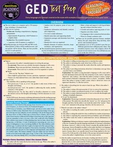 GED Test Prep: Reasoning Through Language Arts Laminated Study Guide - BarCharts Publishing Inc makers of QuickStudy Ged Test Prep, Gre Test, Math Test, Ged Study Guide, Study Tips, Gre Vocabulary, Ged Math, Gre Prep, Test Taking