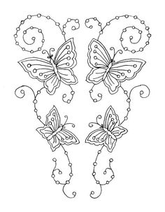 embroidery by hand | Free Hand Embroidery Patterns | ... Library: McCalls: May 1908-Self ...