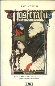 Nosferatu the vampire (1979, Picador) Paul Monette