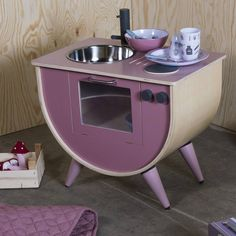 Made to the highest quality , this gorgeous wooden rose play kitchen will make…