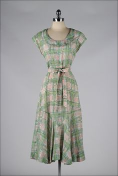 Dress 1930s Mill Street Vintage