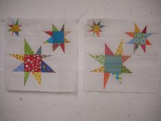 Twinkling stars for Sew Bee Wonky