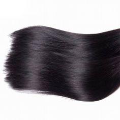 [PLATINUM 7A] 12″-28″ Straight Brazilian Virgin Hair (1 Bundle) – Love Magic Hair