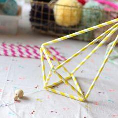 DIY – Himmeli en Pailles de Papier