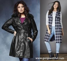 Plus Size Jackets and Coats Fall Winter 2015