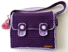Schooltas / postmanbag (met / with tutorial)
