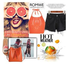 """""""Romwe"""" by beenabloss ❤ liked on Polyvore featuring Kate Spade, New Look and Lodis"""