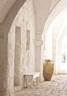 Manduria, Taranto, Puglia www. Interior And Exterior, Interior Design, Tadelakt, Bari, Wabi Sabi, Malaga, Decoration, Beautiful Places, Beautiful Streets
