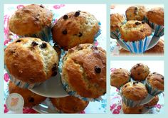banana and chocolate muffn  http://sfizievizi.blogspot.it/2013/05/light-banana-and-chocolate-muffin.html