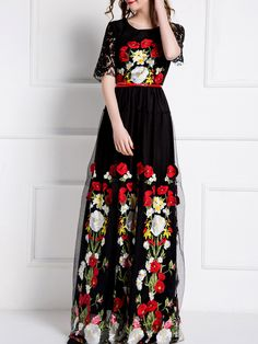 http://www.shein.com/Black-Gauze-Embroidered-Belted-Lace-Maxi-Dress-p-276202-cat-1887.html?utm_source=cj.com
