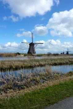 Rotterdam und die Windmühlen Kinderdijk