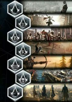 Assassins creed past to present!