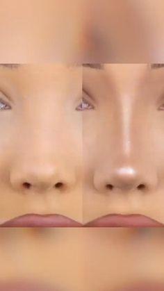 Nose Makeup, Edgy Makeup, Contour Makeup, Eyebrow Makeup, Skin Makeup, Eyeshadow Makeup, Makeup Art, Make Up Contouring, Contouring Products