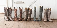 Every cowgirl needs more than one pair.