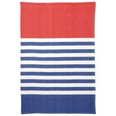 Lake Stripe Throw by