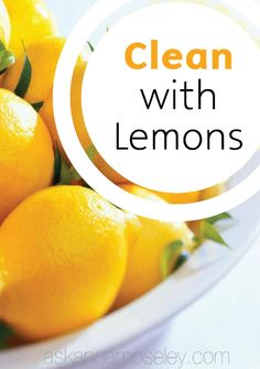 Learn how to use lemons and Bounty Paper Towels to spring clean your home like a pro and leave it smelling fresh for family gatherings.