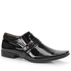 Sapato Social Masculino Calvest 1100A797 - Preto - Passarela.com - Calçados online