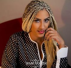 Juliet Ibrahim Features In Her First Ever Hausa Movie - Checkout the poster
