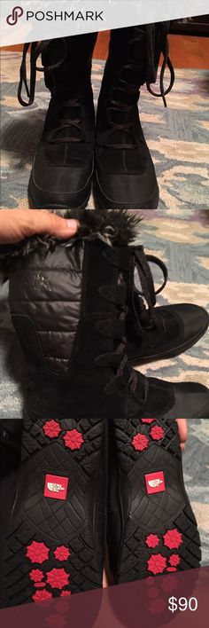 North face nuptse purna primaloft boots In excellent condition only wore a few times The North Face Shoes Winter & Rain Boots