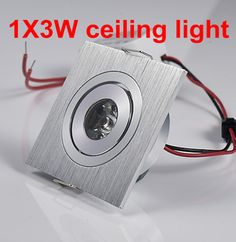 3W White/Warm White LED Ceiling  Down Lights LED 3W  lamp Recessed Spot light AC85V~265V for home illumination Free shipping