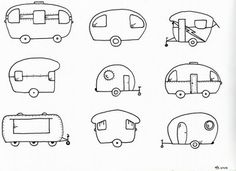 camper embroidery patterns.