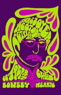 psichedelic album cover -
