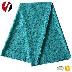 Soft Cloth Fabric Net Blue Round Cord Lace