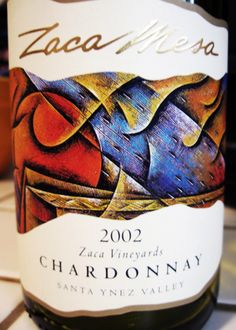 2002 Zaca Mesa Santa Ynez Valley Chardonnay Zaca Vineyards #wine